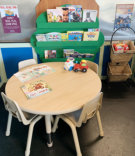 New Reading and Learning Space